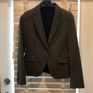 Grey women's suit coat